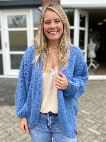 Emily | Vest Jeansblauw