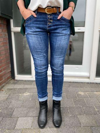 Moppie's Favoriet | Jeans Donkerblauw