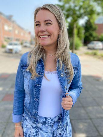 Maureen | Spijkerjasje Blauw